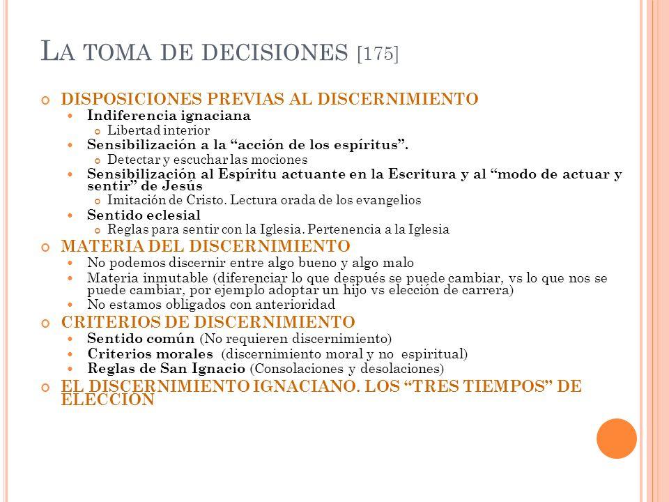 La toma de decisiones [175]